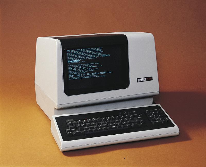 VT100 terminal.