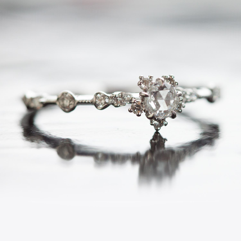Sakura Ring  Wedding  Engagement  Catbird