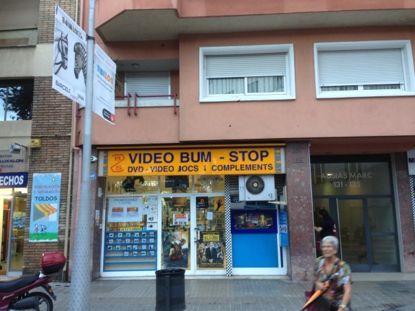 Video Bum Stop, Barcelona