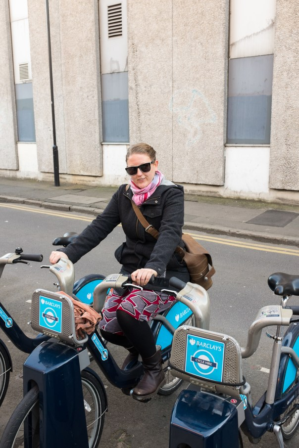 Checking in a Boris Bike