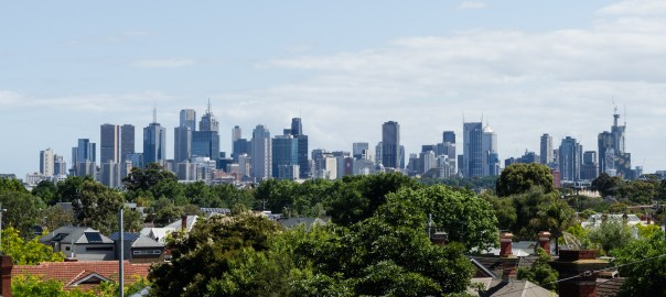 Melbourne skyline from Rucker's Hill