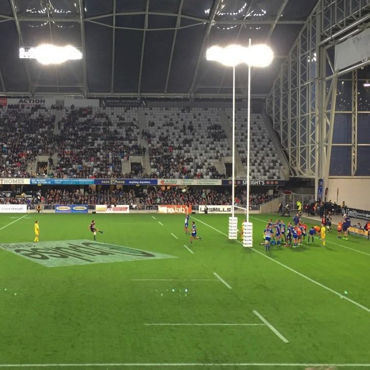 Rugby @ Forsyth-Barr Stadium