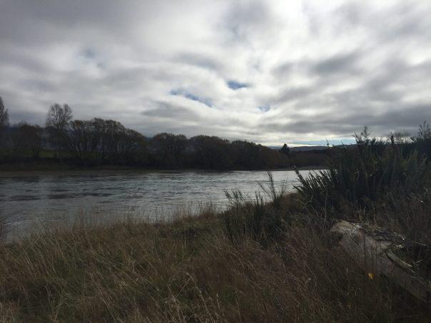 The Clutha river, Clutha Gold bike trail