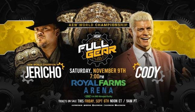 Stipulation pour le Main Event AEW Full Gear