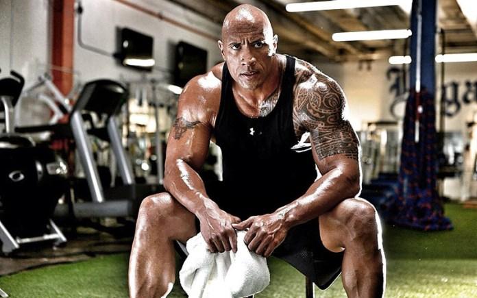 The Rock à l'UFC 244
