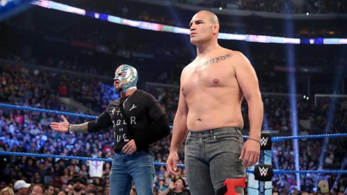 Cain Velasquez vs Brock Lesnar à Crown Jewel