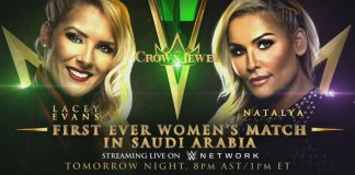 un Match Féminin à WWE Crown Jewel