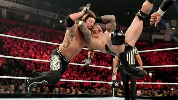 Résultats WWE RAW 11 Novembre 2019