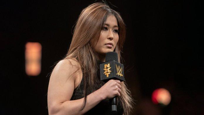 Io Shirai mécontente à WWE NXT
