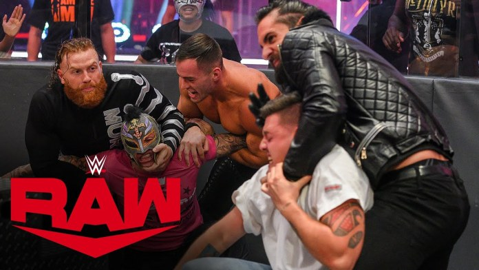 Résultats WWE RAW 22 juin 2020