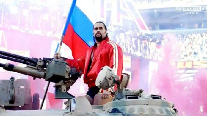 Lana Rusev tank