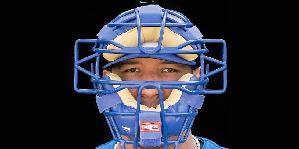 Salvador Perez's Catchers Mask