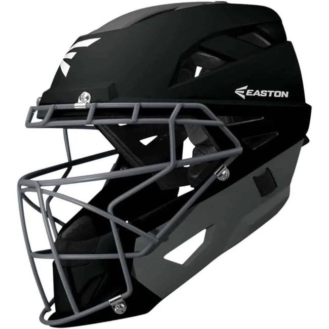 Black Easton Catchers Helmet - non Amazon photo