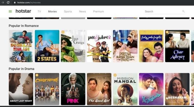 Movie Download from hotstar