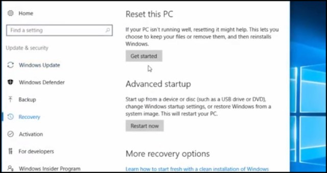 computer reset and make laptop fast
