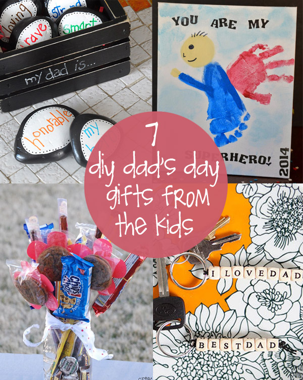 DIY Father's Day Gifts From The Kids Creative T Ideas