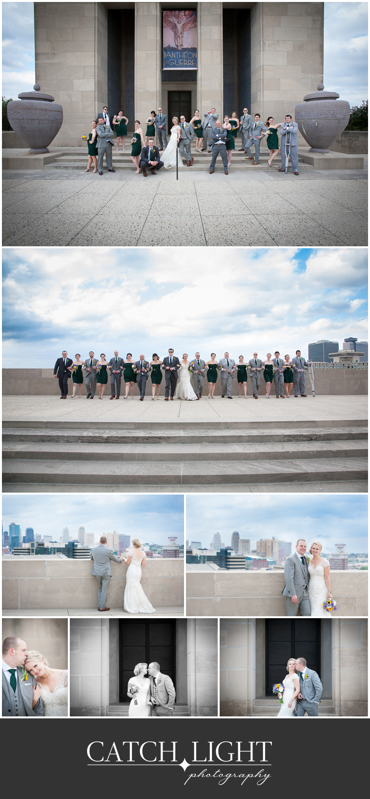 08_wedding party at Liberty Memorial KC
