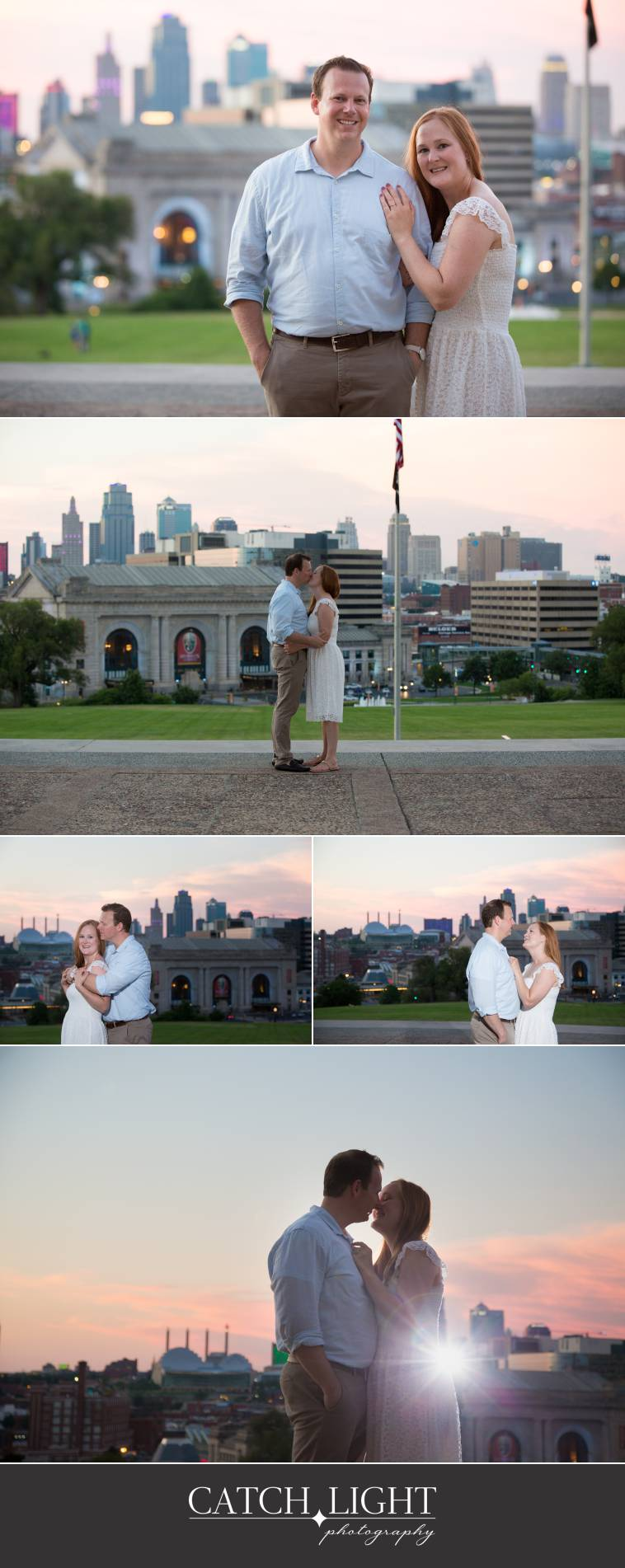 Liberty Memorial Engagement Photography