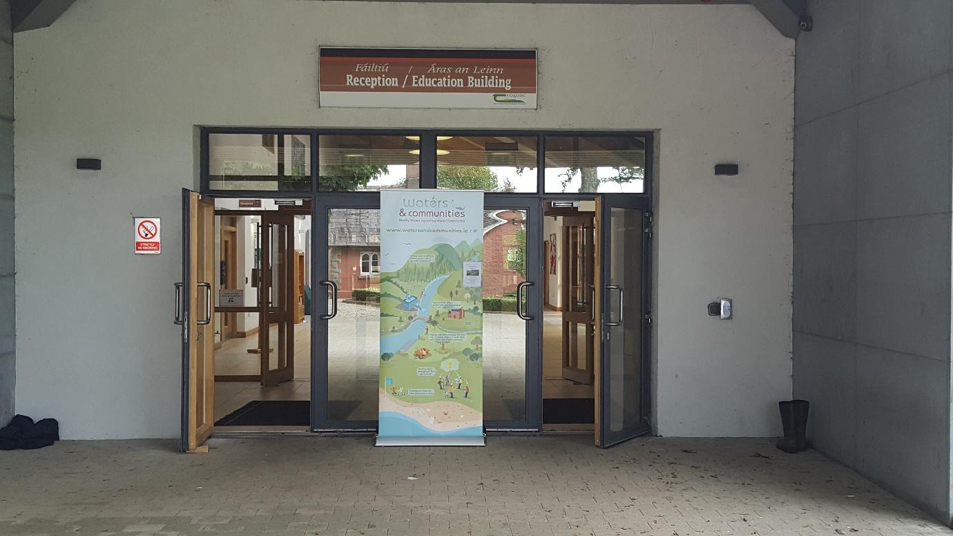 Impressive venue at Kildalton College