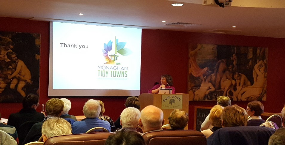 Emer Brennan from Monaghan Tidy Towns Network