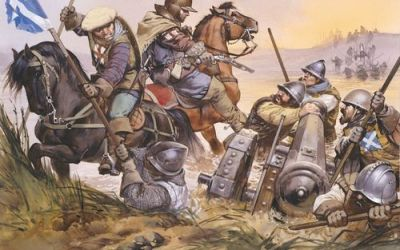 November 24th, 1542 | The Battle of Solway Moss