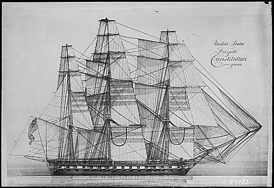 USS_Constitution_sail_plan