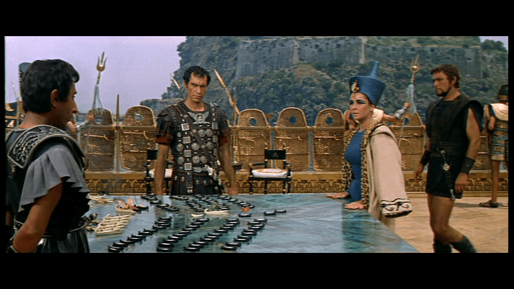 Anthony and Cleopatra at Actium