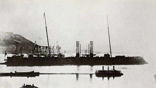 'L'Affondatore' circa 1866