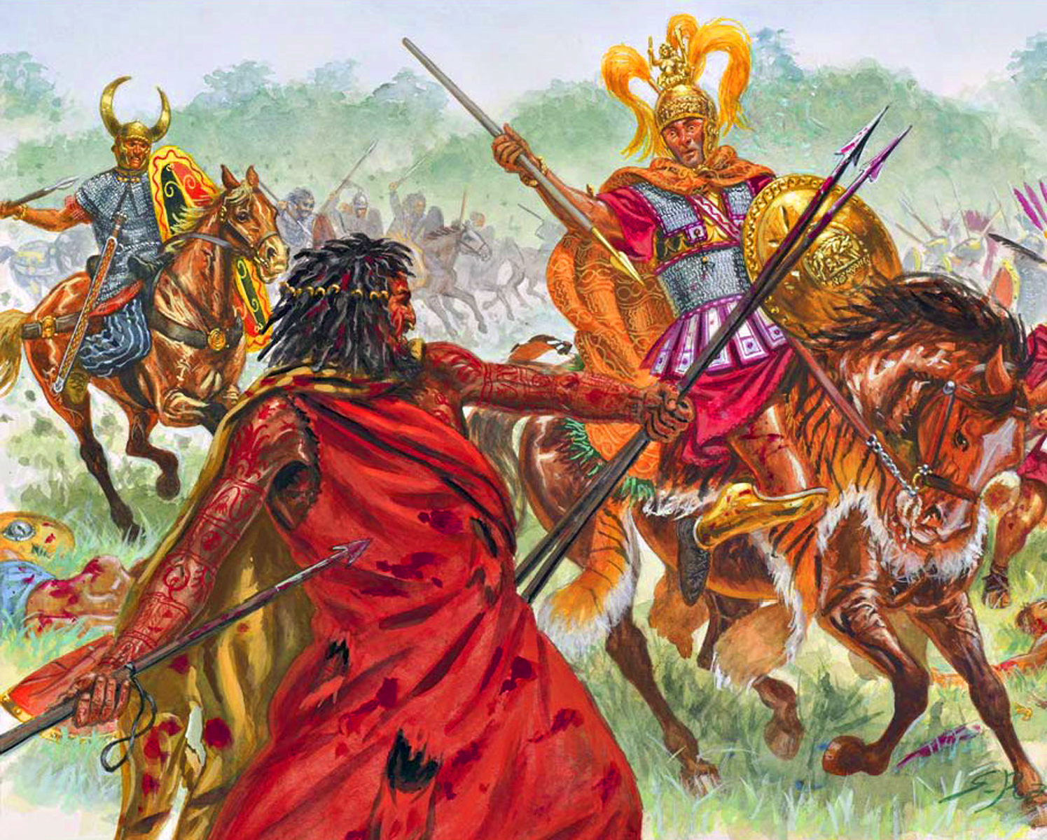June 24 217 Bc The Battle Of Trasimene Someone Catch