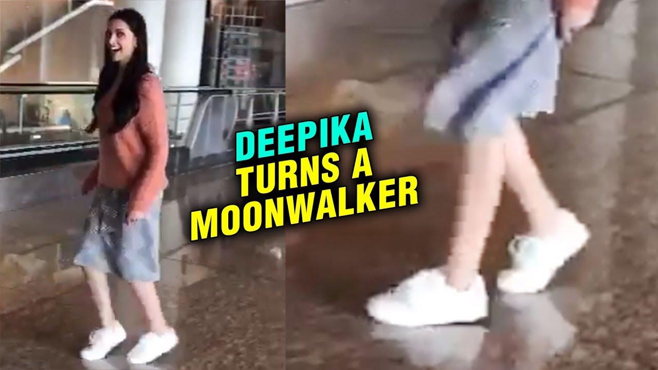 Deepika Padukone moon walks