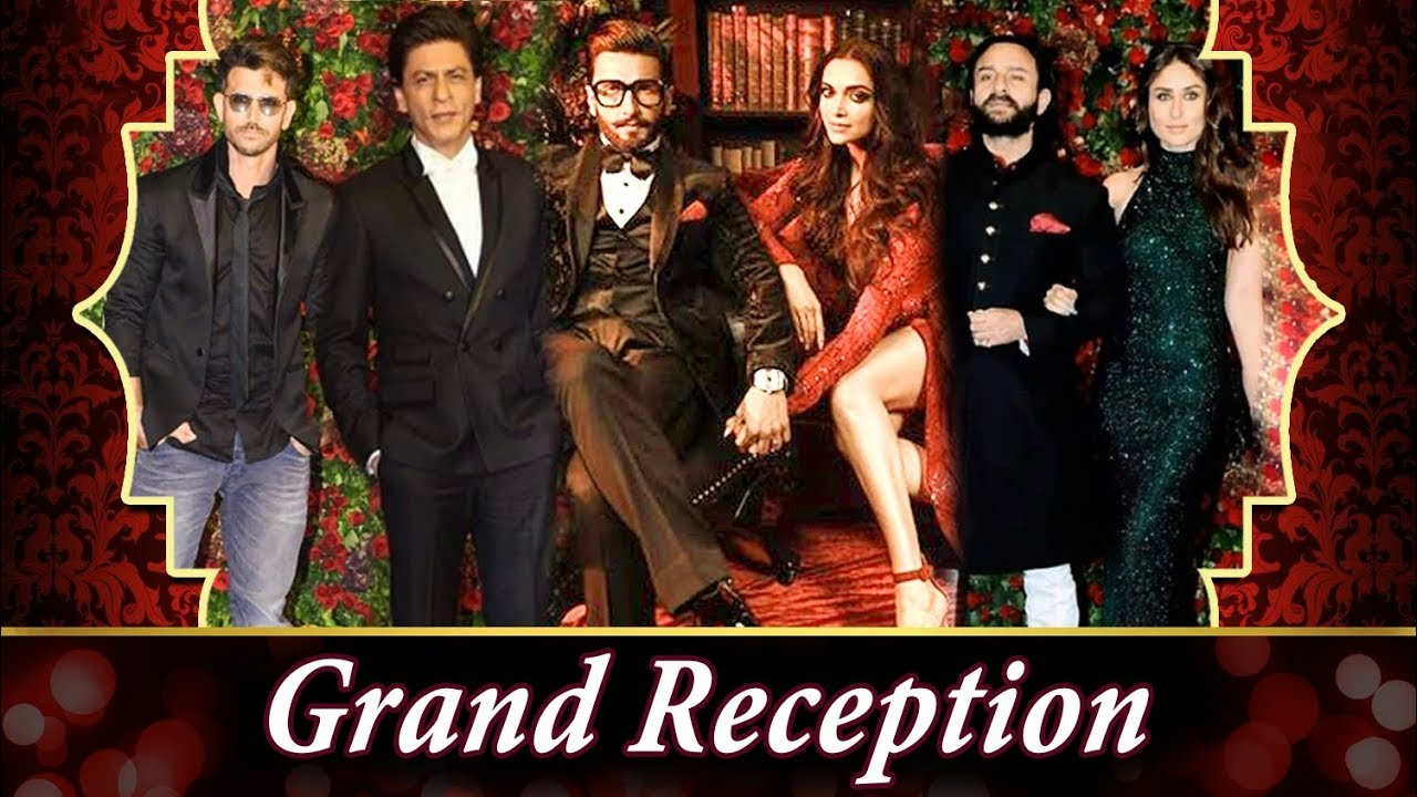 Deepveer GRAND Mumbai reception