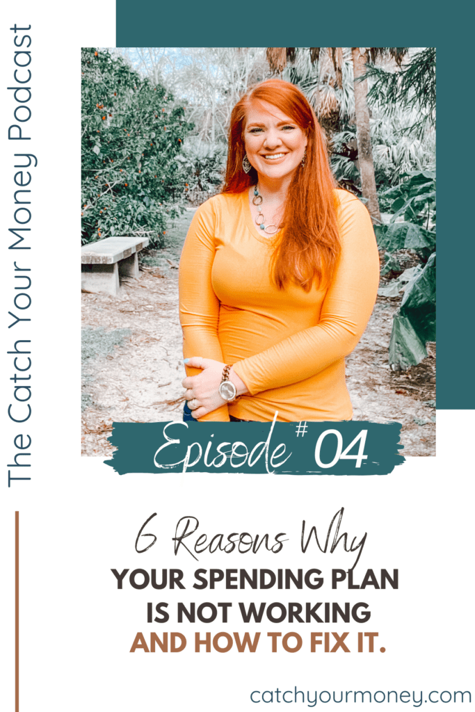 Have you ever wondered where all of your money is going? Join Laura as shares 6 reasons why your current spending plan may not be working and how to fix it.