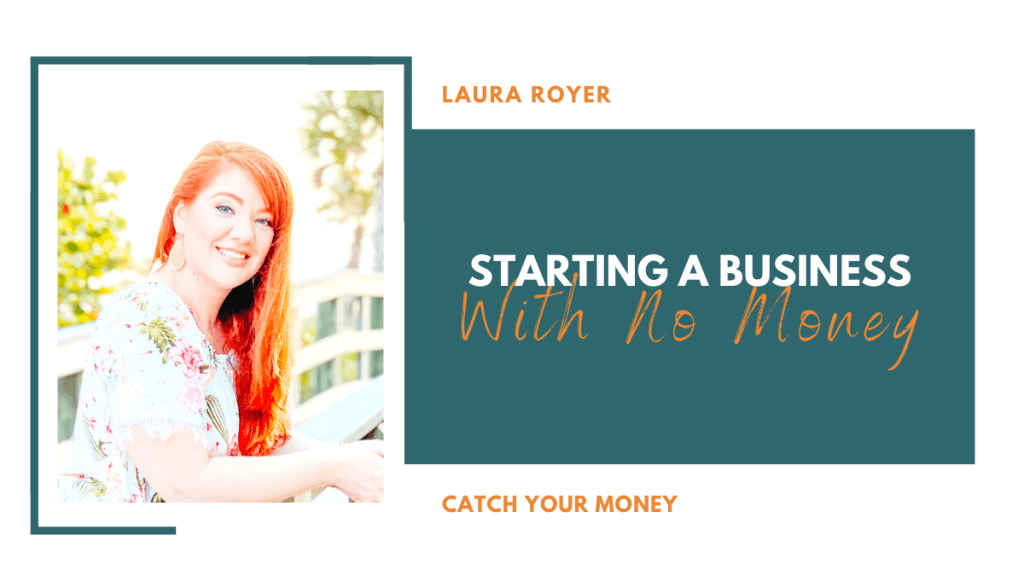 Can you start your business with no money?? Absolutely! This week's episode of Catch Your Money is all about how to start your business NOW with NO moolah!