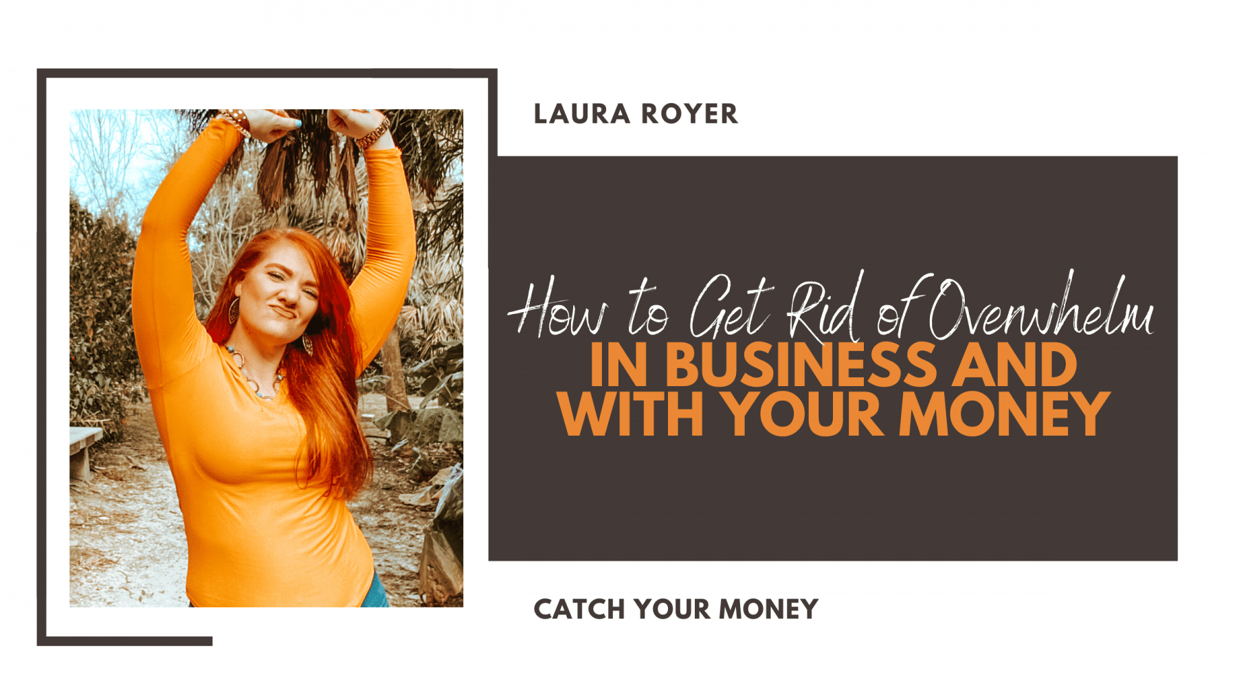 Is the stress just too much and you feel you're losing control of your business or finances? It's time to get rid of the overwhelm!