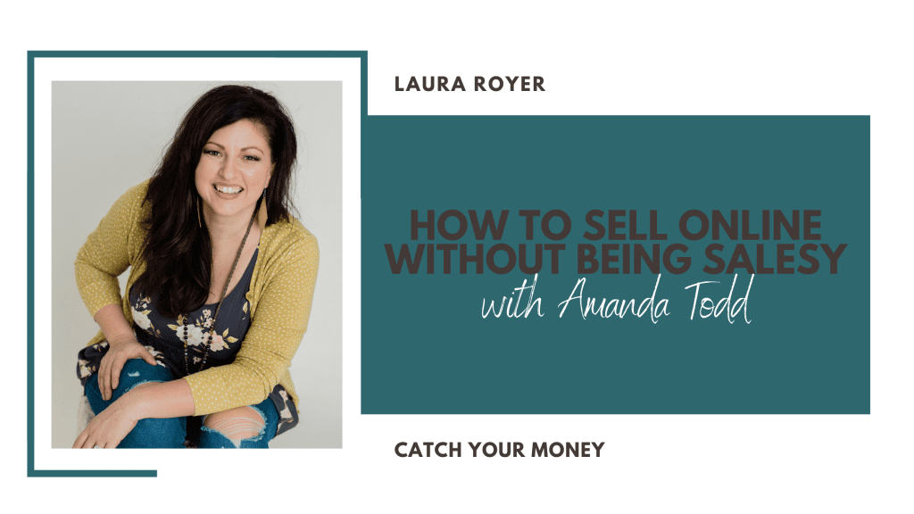 Are you ready to learn how to sell online without being salesy? Amanda Tood from You Dot This joins us to share all her tips!
