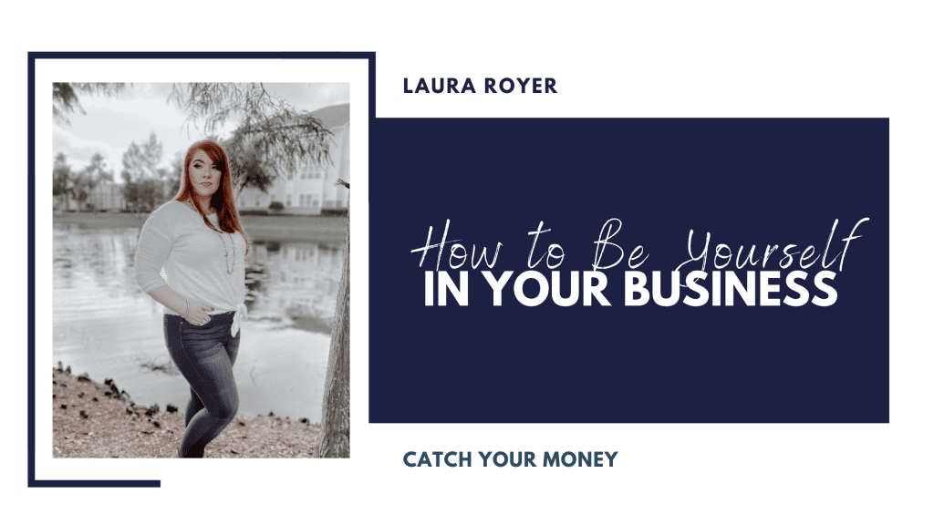 Your business cannot grow the way you want it to if you are not showing up as your authentic self. You need to be yourself in your business!