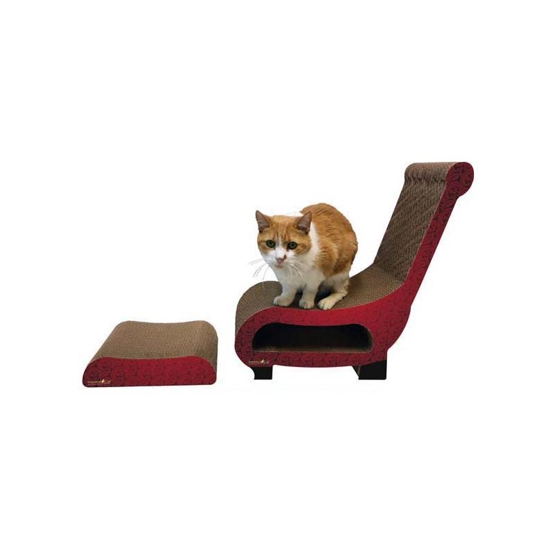club chair cat scratcher