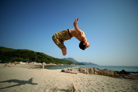 Frosti's Backflip in Lamma