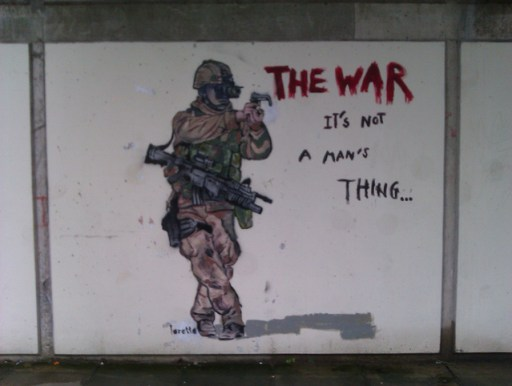The War It's not a man's thing