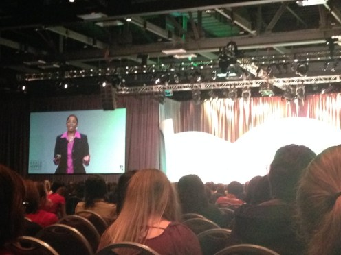 Valerie Taylor at GHC