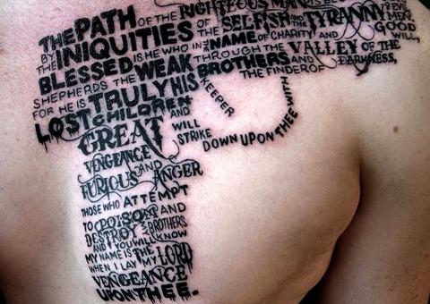 Tatuajes Letras Entrelazadas 1 Tipoblog