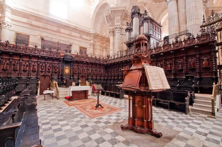 Sillería y Coro – Catedral de Cádiz