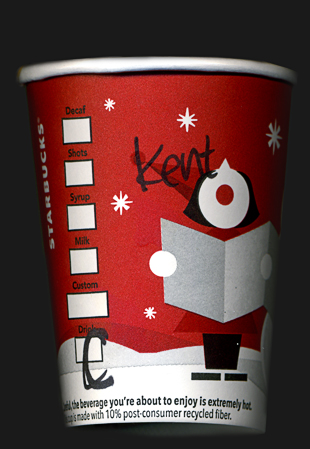 coffee cup name kent