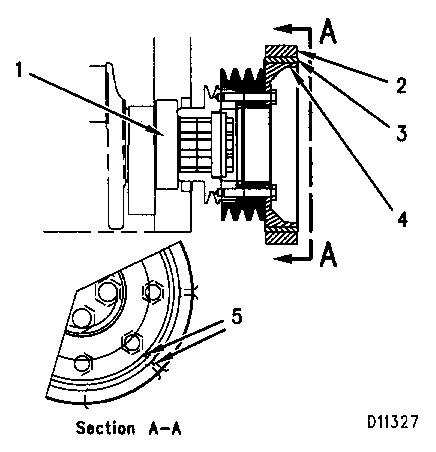 3116 and 3126 Truck Engines Rubber Damper Adjustment