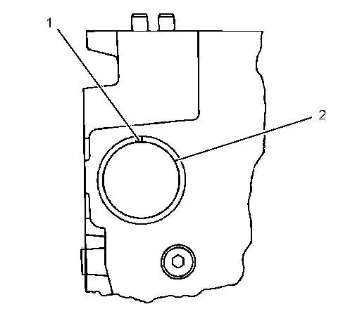 3116 and 3126 Truck Engines Camshaft Bearings