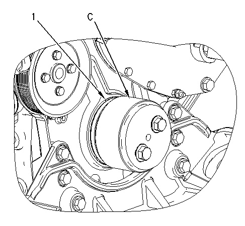 3116 and 3126 Truck Engines Crankshaft Front Seal