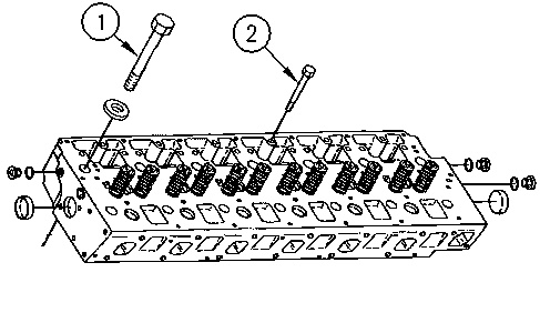 3116 and 3126 Truck Engines Cylinder Head