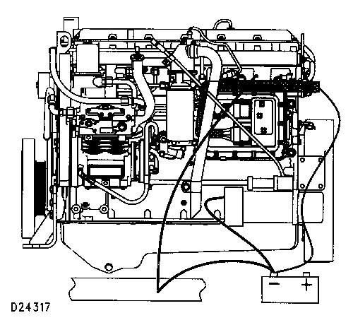 3100 HEUI Diesel Truck Engine Grounding Practices