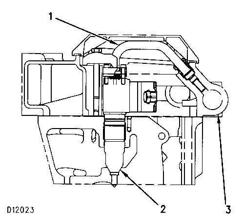 3100 HEUI Diesel Truck Engine Hydraulic Oil (Injection