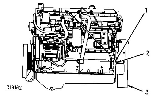 3116 and 3126 Truck Engines Finding Top Center Position